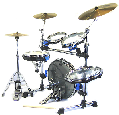 traps, a400, drums, drumkit, portable, folding, fold, car, boot, gig, live