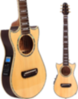 lindo, voyager, LDG, VOY, small, travel, electro, acoustic, guitar, portable