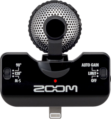zoom, iphone, microphone, music, portable, live, band, travel