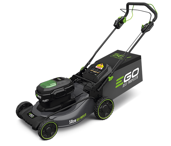 EGO, Power+,Mower,50cm,LM20124E-SP, lawnmower, lawn mower, cordless, battery, lithium, ion,review, reviews, best, garden, gardening, self, propelled, grass, cut