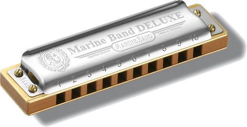hohner, marine, band, deluxe, harmonica, harp, blues, music, gig, play