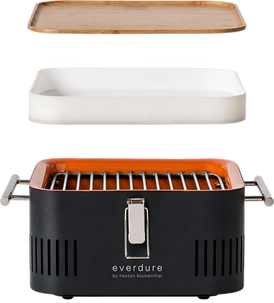 everdure,heston,blumenthal,cube,portable,bbq,barbecue,charcoal,best,review