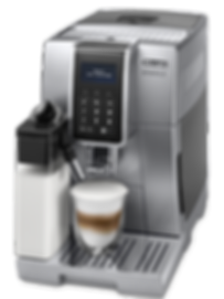DeLonghi, Dinamica, ECAM, 350.35.W,bean-to-cup,bean,to,cup,espresso, pod, coffee, review, machine, kitchen