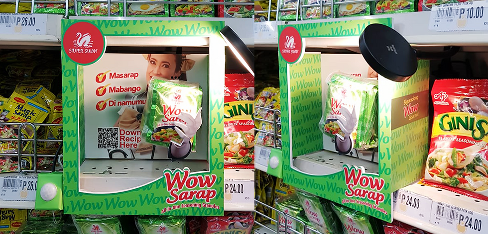 Wow Sarap In-store Robotic Display Philippines