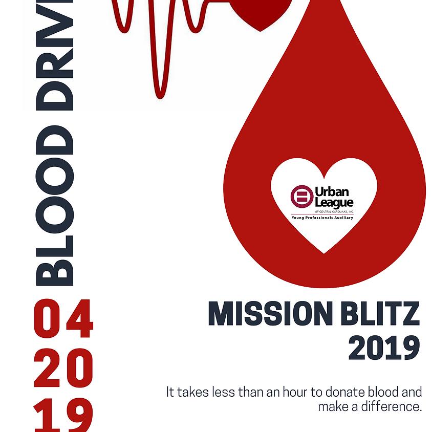 Mission Blitz 2019 Blood Drive
