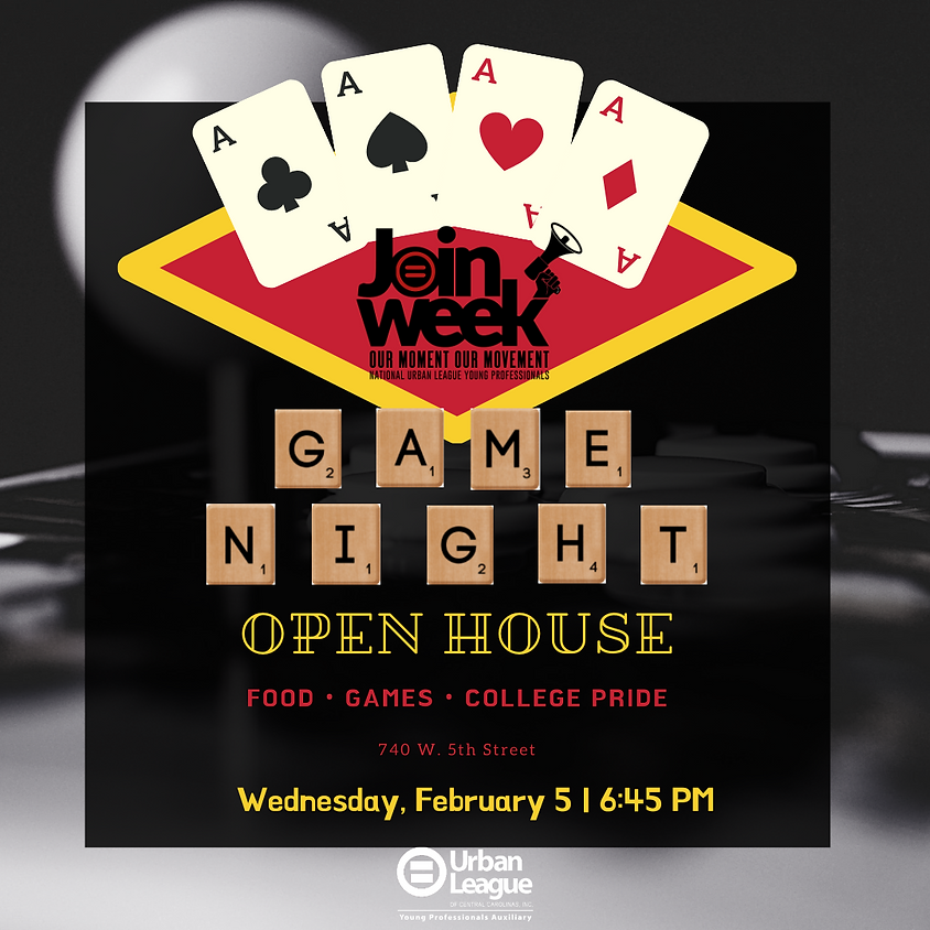 YP Open House & Game Night