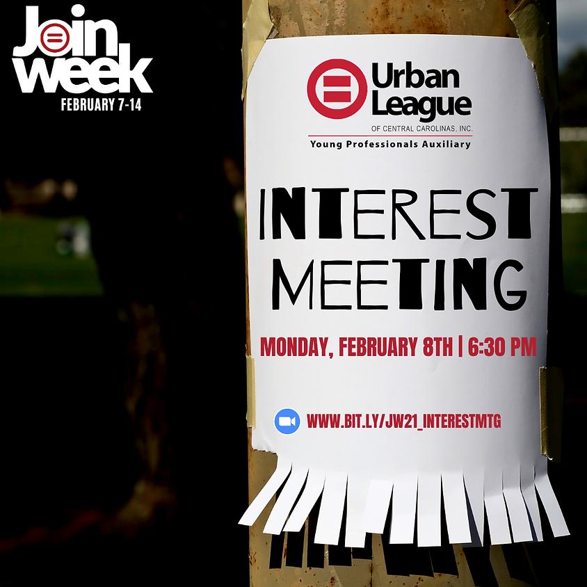 Join Week 2021 - Interest Meeting