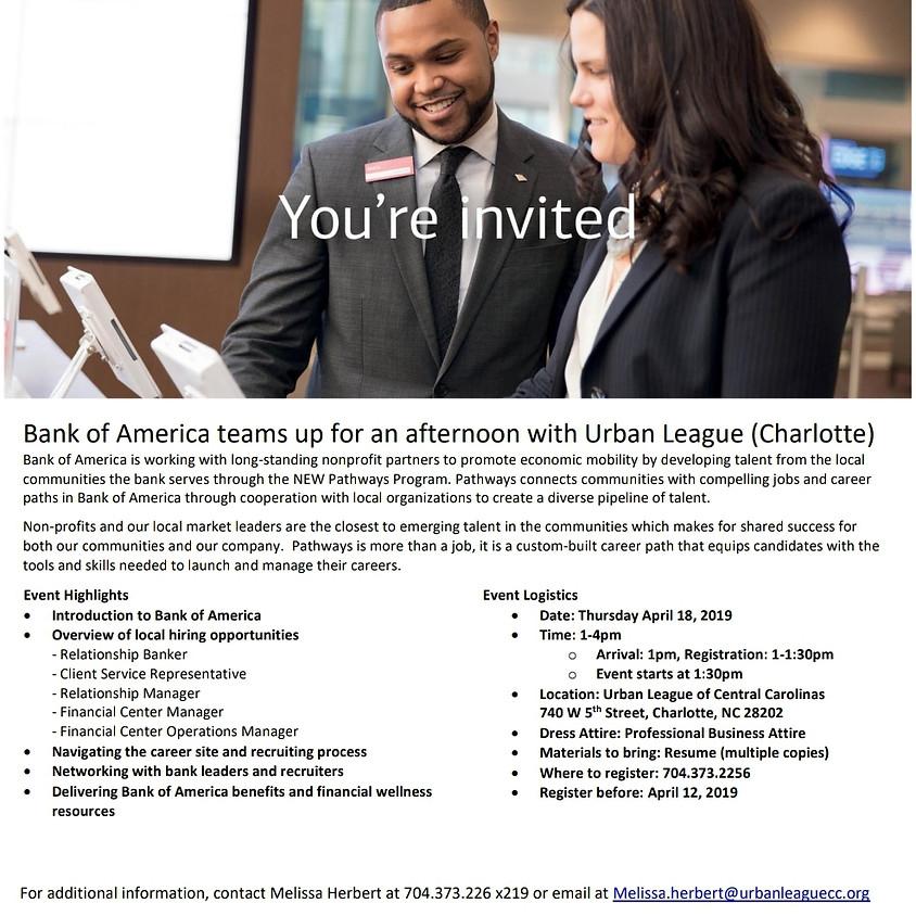 Bank of America Career Fair
