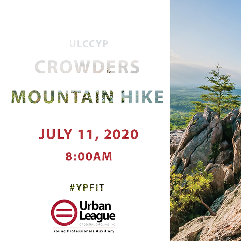 July Crowders Mountain Hike with ULCCYP