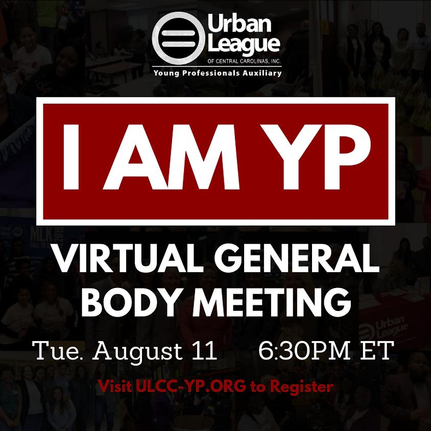 August Virtual General Body Meeting