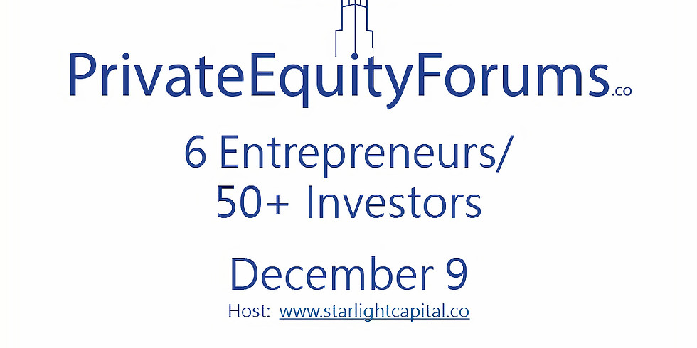 Private Equity Forums - Technology December 2021