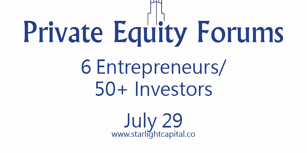 Private Equity Forums - Technology July 2021