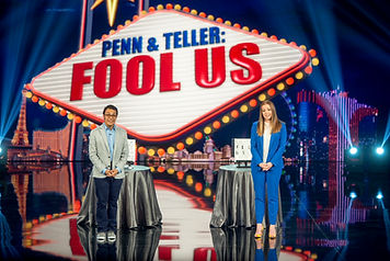 Nathaniel on Penn & Teller: Fool Us! fool us magic competition cw show national tv television magician las vegas illusion