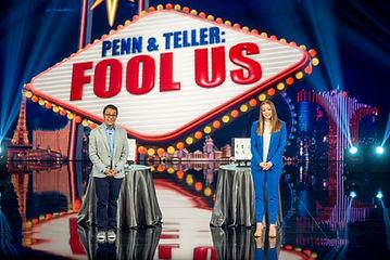 Nathaniel on Penn & Teller: Fool Us! fool us magic competition cw show national tv television magician las vegas illusion