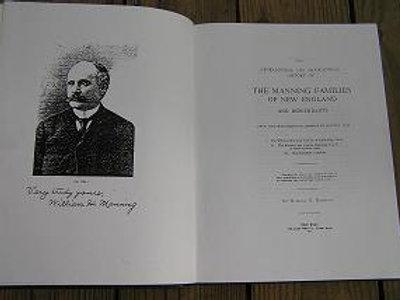 Manning Genealogy Book