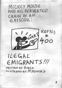 Illegal emigrants
