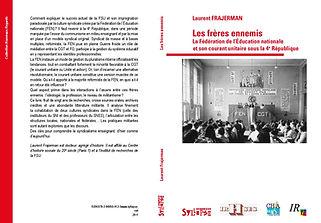 couverture livre syndicalisme FEN IVe République