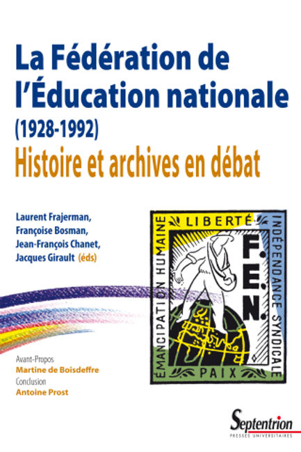 Livre FEN archives syndicalisme