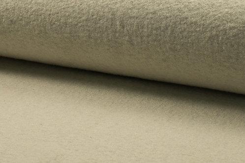 Wollwalk gekochte Wolle 100% Wolle ecru