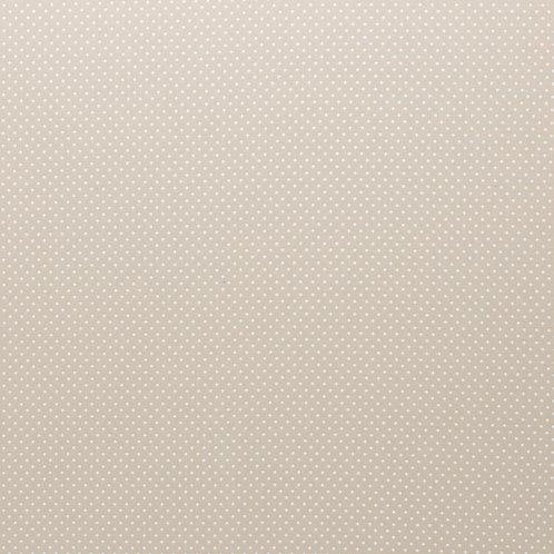 BW Judith beige mit kleinen weißen Punkten 148cm