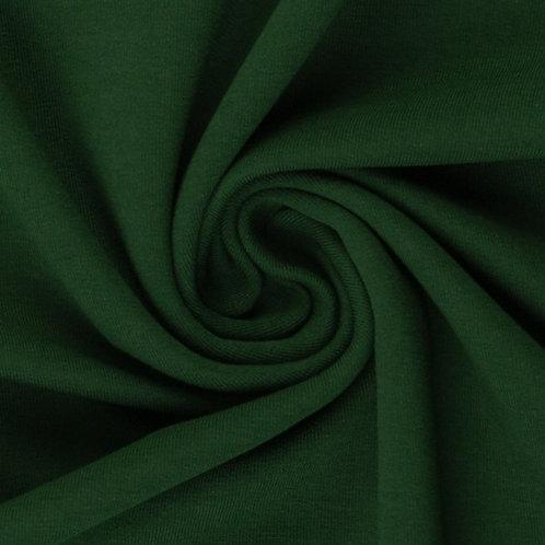 Jersey Sweat Eike dunkelgrün - Swafing