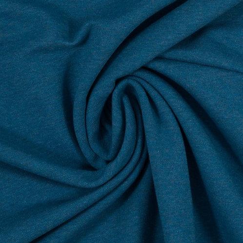 Jersey Sweat Eike blau maliert- Swafing