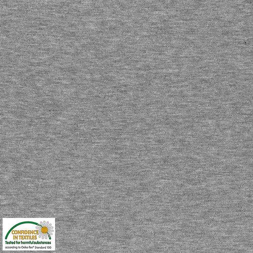 Avalana Rib Jersey hellgrau - Stof - Bündchen