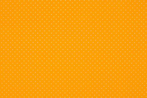 PW-Stoff gelb wei�e P�nktchen 145 cm - Quality