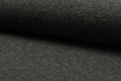 Wollwalk gekochte Wolle 100% Wolle mittelgrau