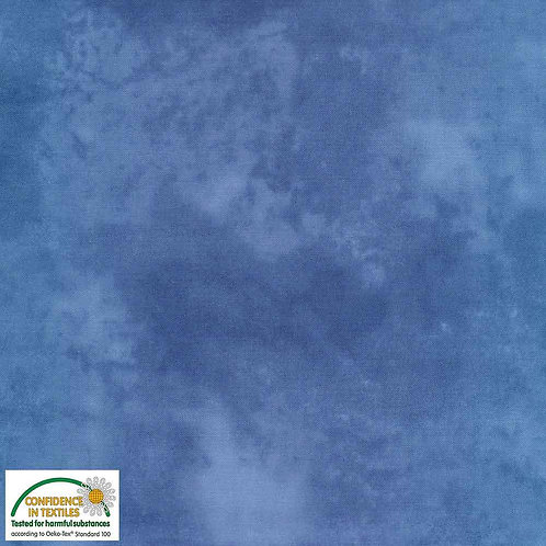 PW-Stoff - Quilters Shadow blau- STOF