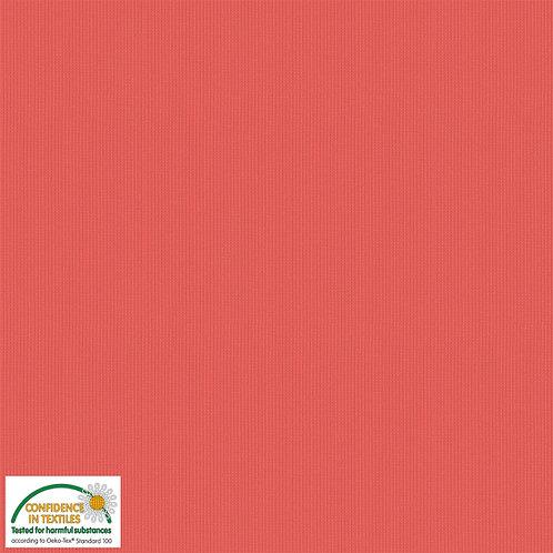 Avalana Rib Jersey koralle - Stof - Bündchen