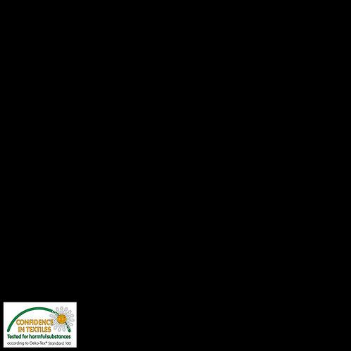 Avalana Jersey Solid uni schwarz STOF
