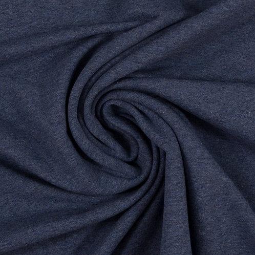 Jersey Sweat Eike jeansblau meliert - Swafing
