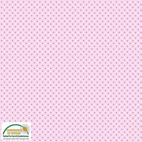 Jersey rosa Tupfen STOF