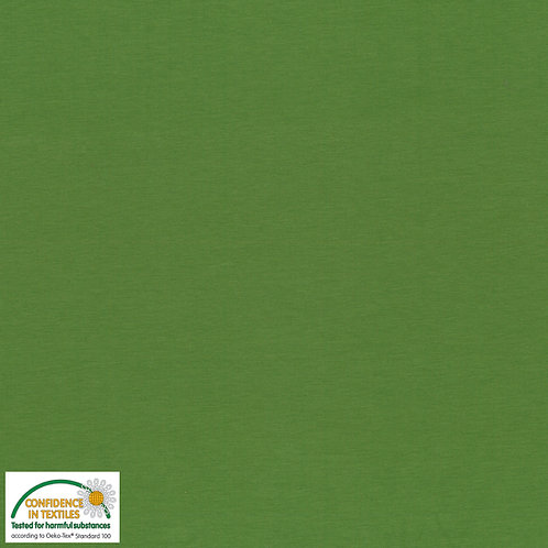 Avalana Jersey Solid uni grün STOF