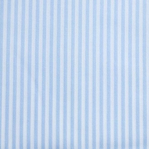 PW Stoff Caravelle Streifen hellblau