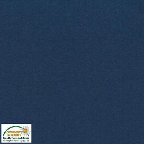 Avalana Jersey Solid uni blau STOF
