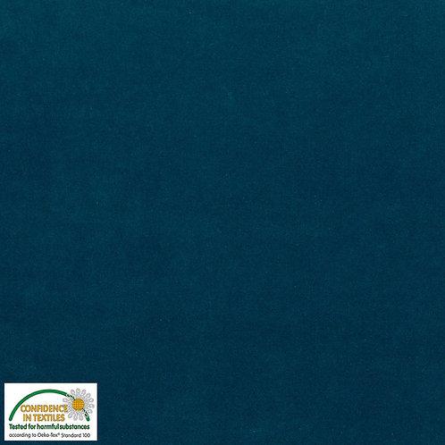 Avalana Velour Corduroy - Nicki-Jersey petrol - STOF