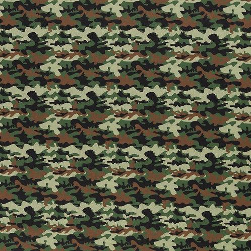BW Stoff  KIM Camouflage - Swafing