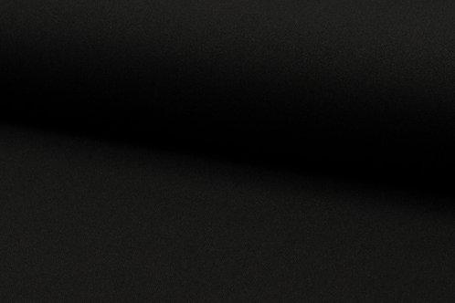 Bi-Stretch uni schwarz 147cm 100% Poly