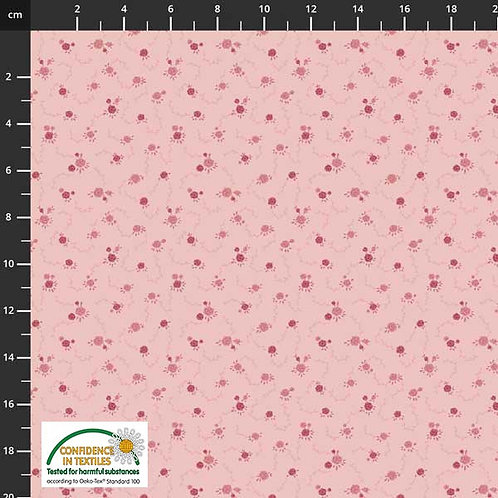PW Stoff Gardening rosa Bl�mchen - STOF
