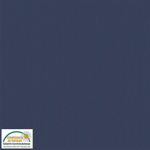 Avalana Rib Jersey jeansblau - Stof - Bündchen