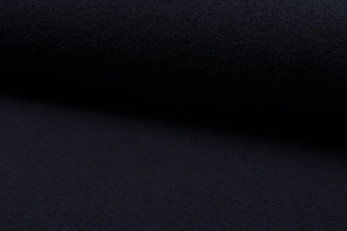 Wollwalk gekochte Wolle 100% Wolle Dark Navy