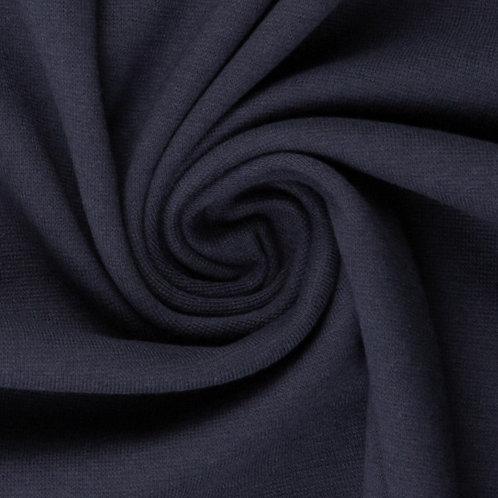 Bündchenstoff Heike dunkelblau  - Swafing