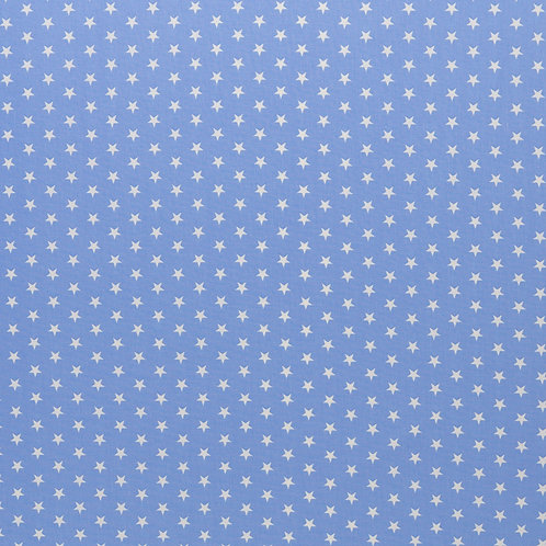 BW Carrie hellblau mit wei�en Sternen 148cm