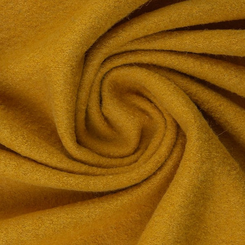 Wollwalk gekochte Wolle 100% Wolle Naomi senf