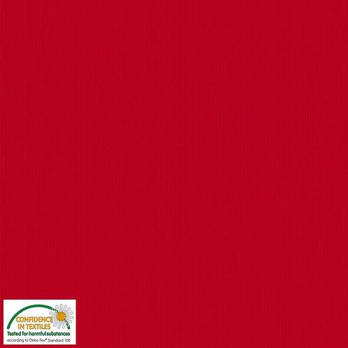 Avalana Rib Jersey rot - Stof - Bündchen