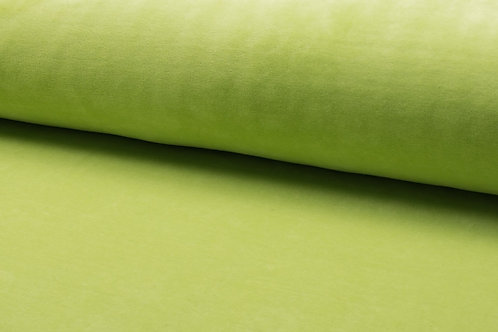 Nicky Velours uni - Lime