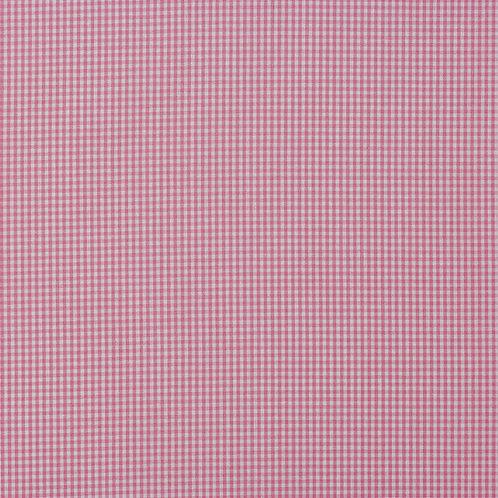 PW Stoff Canstein karo FEIN rosa