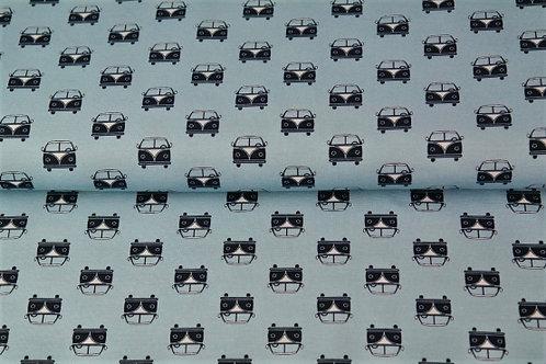 VW Bulli BW Popeline 150cm